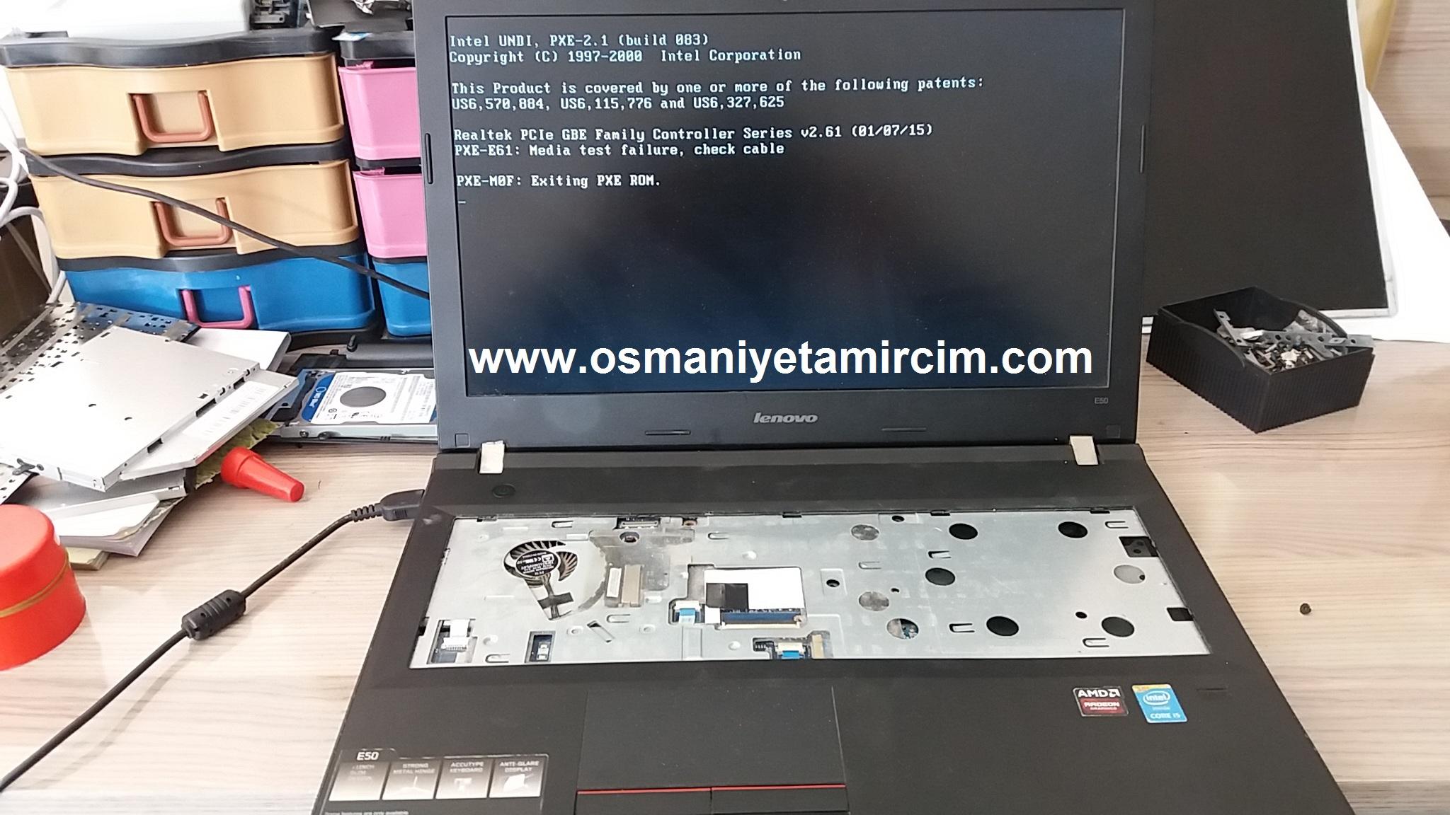 Lenova İdeaped E50 Anakart Onarımı - Osmaniye Bilgisayar